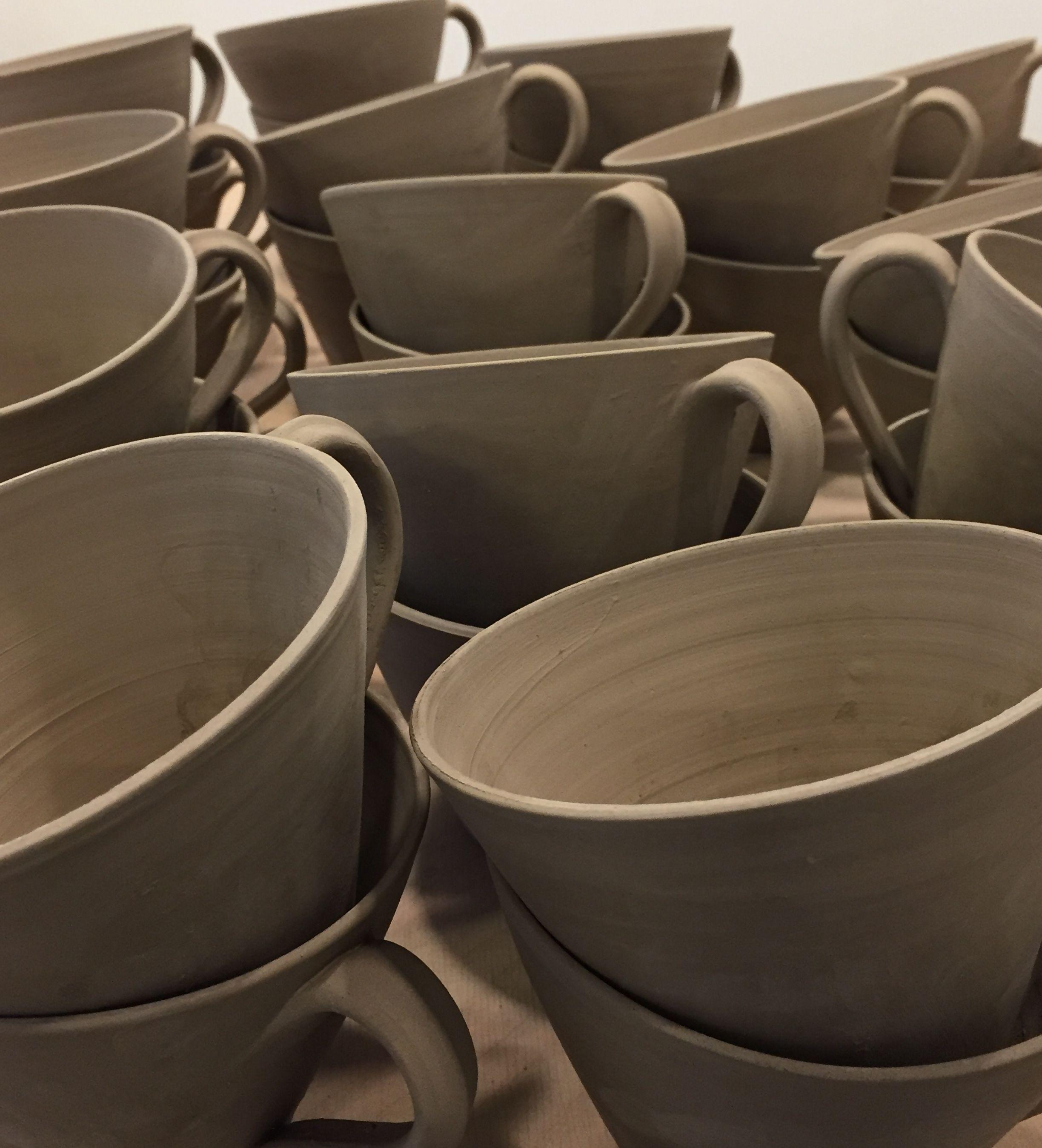 koppar av keramik till kopputställning