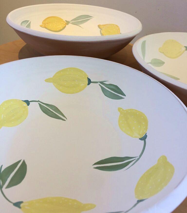 Idag målar jag citroner